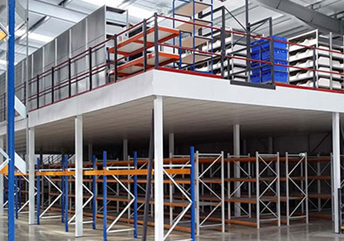 Modular Mezzanine Floor In Tuting