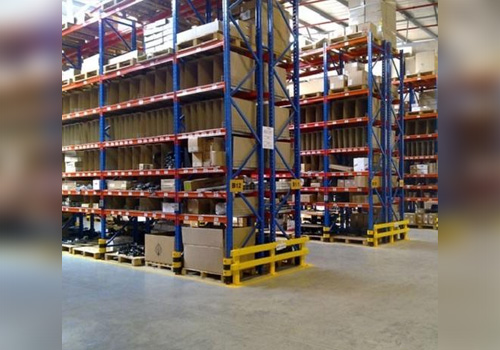 Pallet Racking System In Tuting