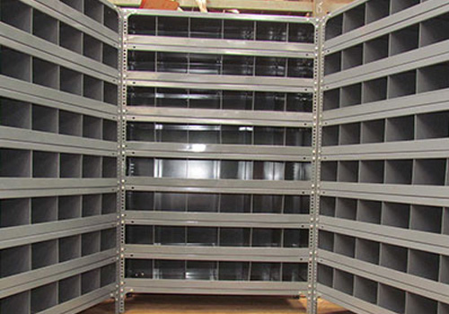 Slotted Angle Rack In Lower Subansiri