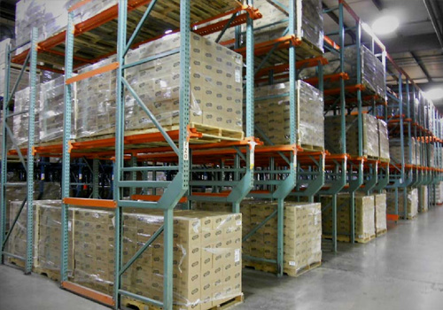 Warehouse Pallet Storage Rack In Allagadda