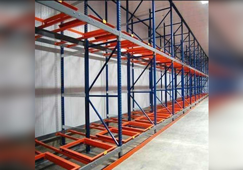 Warehouse Storage Rack In Tirap